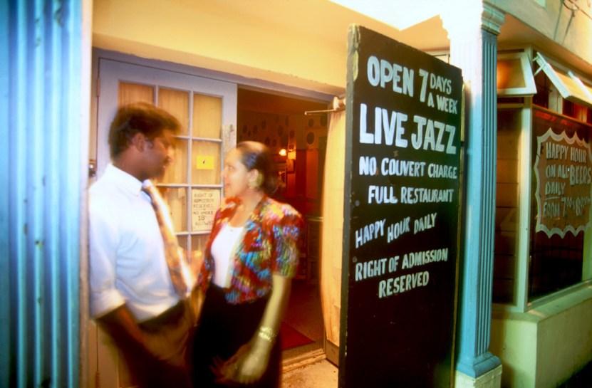 Sudáfrica, El Cabo, Capetown, Club Jazz, pareja, retrato