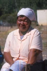 Sudáfrica, Karoo, De Rust, campesina, retrato