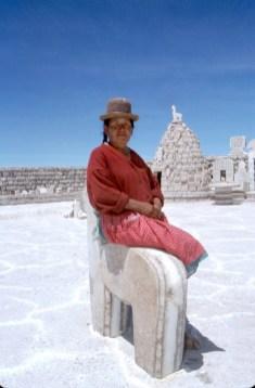 Bolivia, Salar de Uyuni, retrato