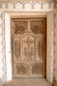 Bolivia, Chiquitania, San Javier, Misión Jesuítica, puerta