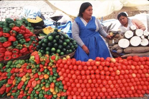 Bolivia, Sucre, mercado, retrato
