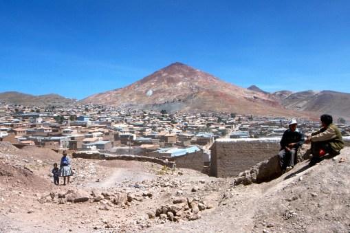 Bolivia, Potosi, Cerro Rico