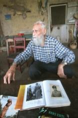 Bolivia, Chiquitina, estancia la Dolorida, fotógrafo y cineasta del tercer right Hans Ertl, huido al final de la segunda guerra mundial, retrato
