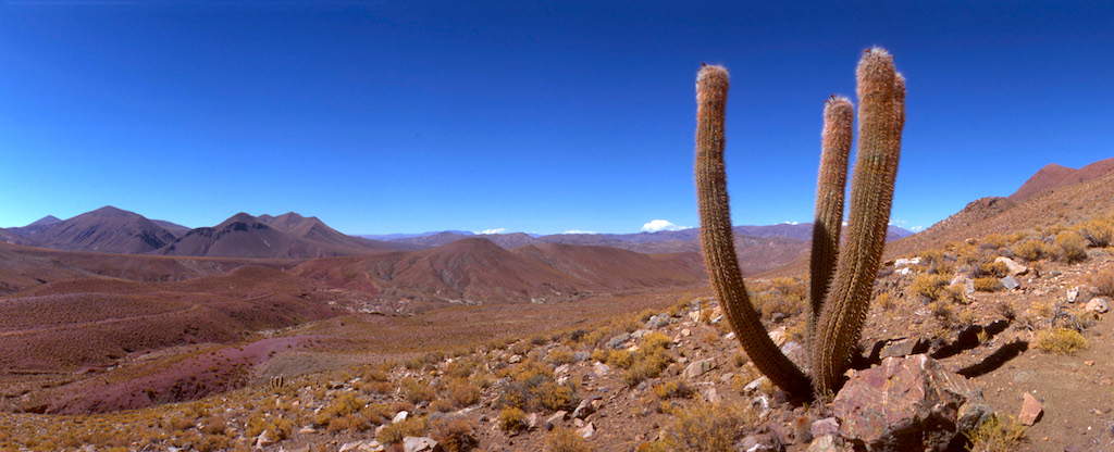 Bolivia, Potosi, puente Arci, rio Pilcomayo