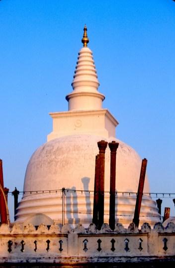 Sri Lanka, Polonnaruwa, capital mediabal, Dagoba