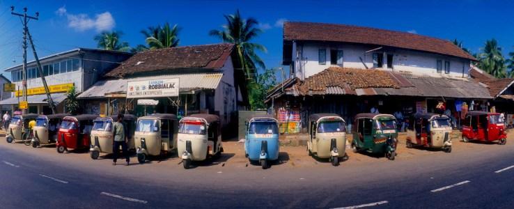 Sri Lanka, Hanwella, taxis, transporte