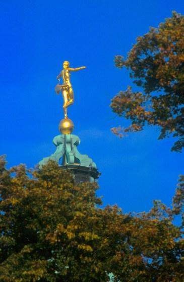 Alemania, Berlín, Charlottenburg, escultura
