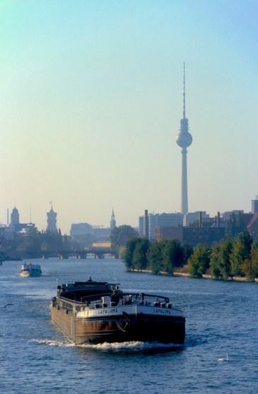 Alemania, Berlín, Rio Spree