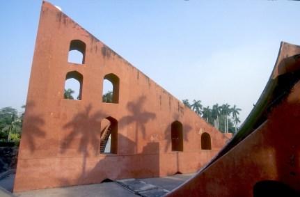 India, Uttar Pradesh, Delhi, Jantar Matar, observatório astronomico del siglo XVIII