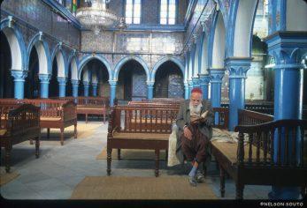 Túnez, Isla de Djerba, Sinagoga La Ghriba