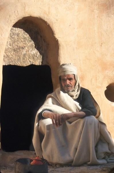 Túnez, el Ferch, Ksar es su casa, retrato