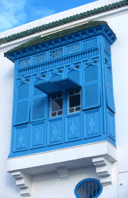 Túnez, Sidi Bou Said, ventana