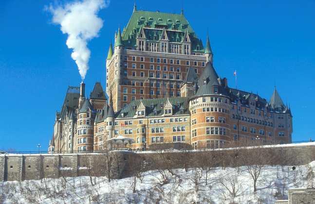 Quebec, Castillo Frontenac
