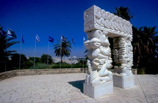 Israel, Yafo (Jaffa), Estatua de la Fe