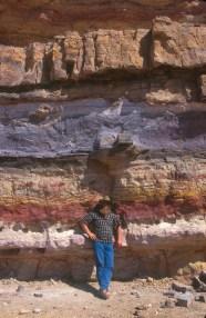 Israel, desierto del Negev, crater Ramon, Estratificación, Sr Ofer