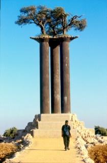 Israel, Jerusalén, Parque de los Olivos, las columnas de los Olivos
