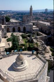 Israel, Jerusalén, Ciudadela