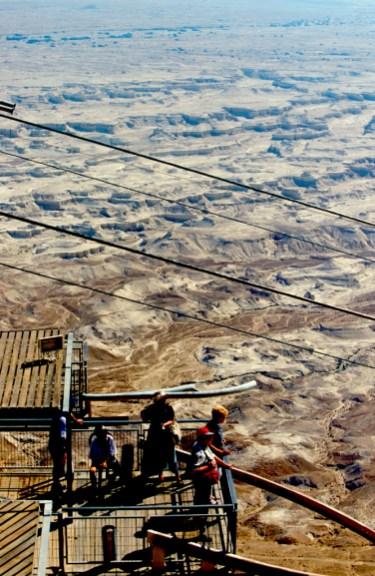 Israel, Masada, fortaleza de Herodes