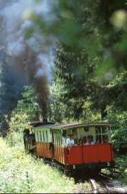 Tren a vapor Achensee