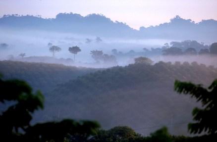 México, Poza Rica, paisaje del lugar
