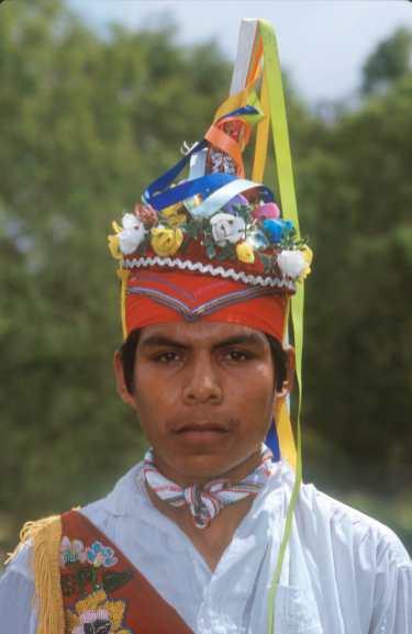 México, El Tajin, Los Totonacas, Hombre Volador, retrato