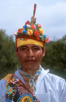 México, El Tajin, Hombres Voladores, retrato