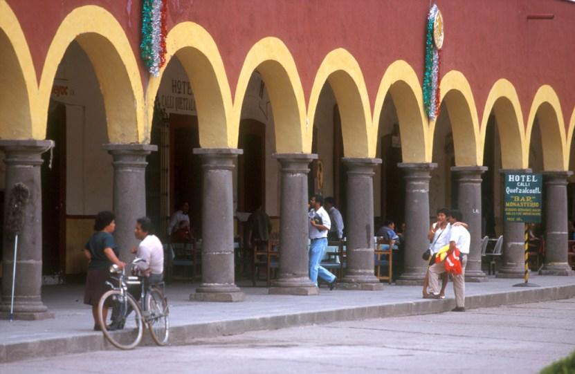 México, Estado Puebla, Cholula, Zocalo