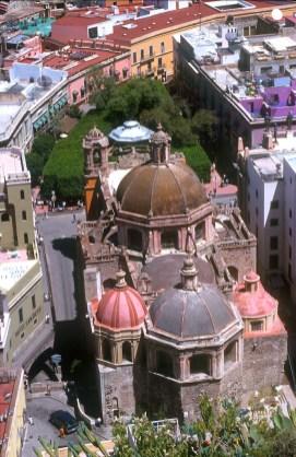 México, Est. Guanajuato, Guanajuato, iglesia san Diego