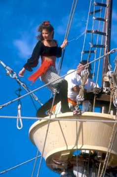 "Islas Cayman, Grand Cayman, George Town, ""Fiesta de los Piratas"""