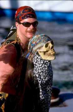 """Islas Cayman, Grand Cayman, George Town, """"Fiesta de los Piratas"""", retrato"""