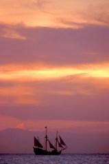 "Islas Cayman, Grand Cayman, George Town, ""Fiesta de los Piratas"", transporte"