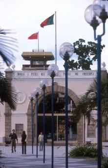 Macao, Antigua frontera