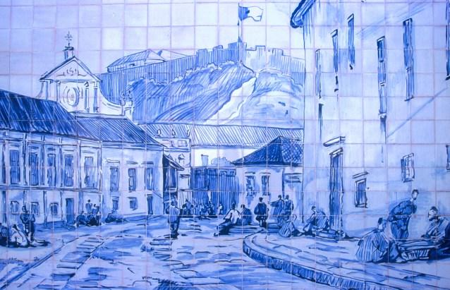 Macao, Azulejos de Portugal