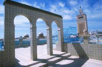 Túnez, La Medina, ventana, puerta