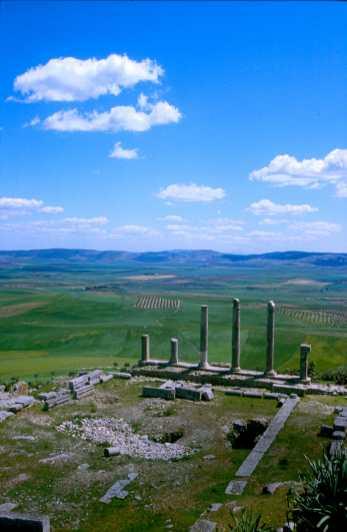 Túnez, Doga, ciudad romano