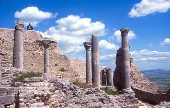Túnez, Doga, Ciudad Romana