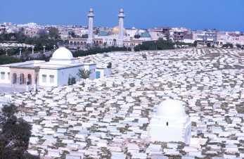 Túnez, Monastir, Cementerio