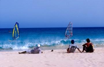 Cabo Verde, Isla de Sal, playa Santa María