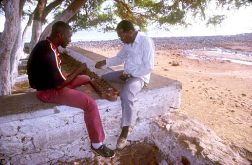 Cabo Verde, Isla Santiago, Juego de mesa
