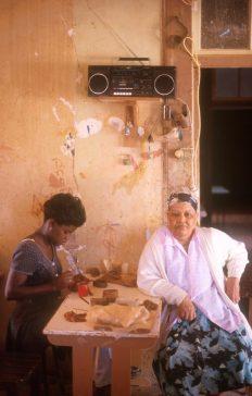Cabo Verde, Isla Sao Vicente, Mindelo, taller de cerámica