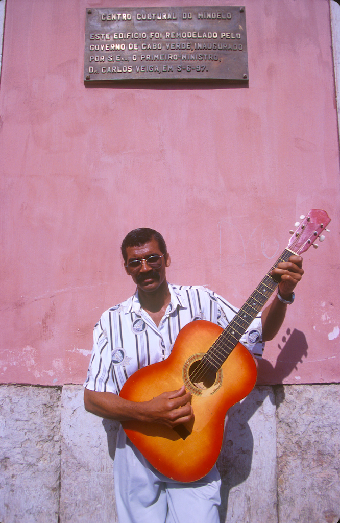Cabo Verde, Isla San Vicente, Mindelo, centro cultural, retrato