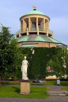 Alemania, Baden-Wurtemberg, Stuttgart, plaza Schiller, jardines del palacio, galería de arte