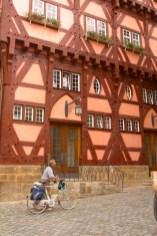 Alemania, Baden-Wurtemberg, Esslingen Am Neckar, biciclceta