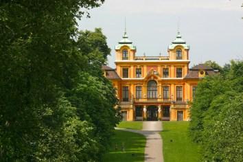Alemania, Baden-Wurtemberg, Ludwigsburg, palacio la Favorita
