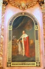 Alemania, Baden-Wurtemberg, Ludwigsburg, palacio Residenzschloss, retrato de Federik I de Würtenberg