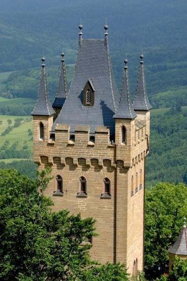 Alemania, Baden-Wurtemberg, Hechingen, castillo Hohenzollern,