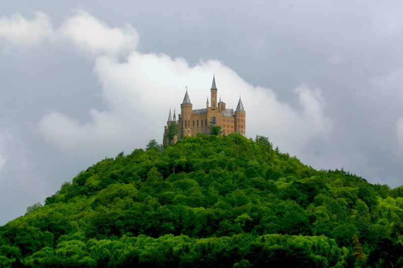 Alemania, Baden-Wurtemberg, Hechingen, castillo Hohenzollern