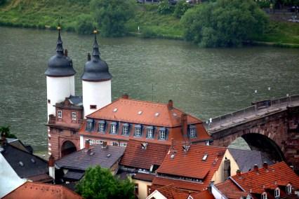 Alemania, Baden-Wurtemberg, Heidelberg, río Neckar