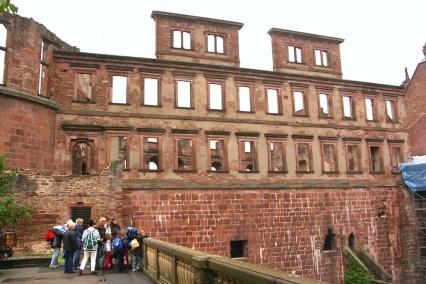 Alemania, Baden-Wurtemberg, Heidelberg, Palacio de Heidelberg