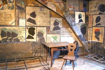 Alemania, Baden-Wurtemberg, Heidelberg, Universidad de Heidelberg, carcel de los estudiantes, mural, graffiti
